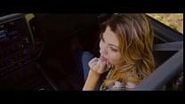 音乐电影剪辑我的女孩在乘客座位吸我干,