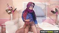 5100 Arab girl Ada S gets a big dick preview