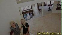 Жена вставляет страпон мужу