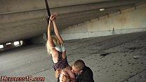 Tiny teen tied up for sex Vorschaubild