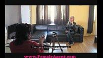 FemaleAgent Delicious blonde bombshell