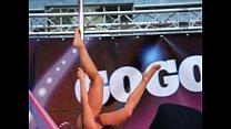 Mademoiselle Lia - Pole dancing - Eropolis Nice France 2013-02-10 Vorschaubild