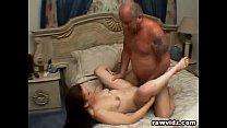 Grandpa fucking a horny chick pornhub video