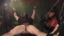Latex loving mistress pleasures masked man [라텍스 Latex]