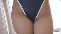 Mahiro Yumehara High-Leg Swimsuit Nevy Fresh Teen Bathroom Image Video Solo