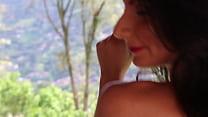 Ammelie Lovee enjoying and caressing her body - model latina Vorschaubild