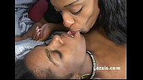 black lesbian strap attack