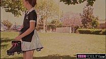 Screenshot TEENFIDELITY  Big Butt Teen Creampied By Big Dick