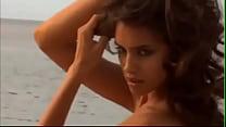 Irina Shayk nude Bodypainting on a beach