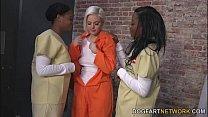 Jenna Ivory Gets Fucked By Her Black Lesbian Cellmates pornhub video