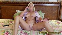 Her Male Escort FANTASY Makes Her CUM