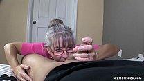 Horny Granny Sucks A Young Dick Vorschaubild