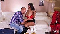 Hardcore fucking at the vacation rental gives Cristina Miller orgasms video