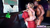 (AJ Applegate) Huge Ass Oiled Sexy Girl Enjoy A...