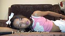 Thai Maturbating Ladyboy Offers You Her Love