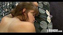 Секс видео русский с голубоглазой