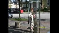 Nina flashing in public 1
