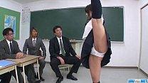 Aika Hoshino likes blowing cock and swallowing jizz thumbnail