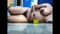 สาวฝรั่งหัวนมดำคัพอี กินน้ำส้มแล้วเอานิ้วเกี่ยวหอยซะเสียวซะน้ำเงี่ยนแตก