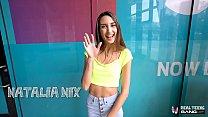 Real Teens - Beautiful Tall Skinny Natalia Nix Gets Fucked