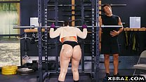 Big ass gym babe Mandy Muse anal fucked after squats pornhub video