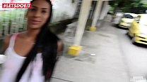 LETSDOEIT - Ebony Latina Picked Up From The Market and Fucked Hardcore Vorschaubild