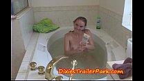 Step Daddy washes Teen step daughters hair with SPERM Vorschaubild