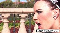 Dana the maid in a hot orgy