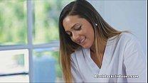 christina carter o girl - BBC filled perky teen masseuse thumbnail