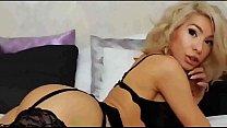 Sex bomb milf blonde in uniform riding dildo LiveTeenCams.co