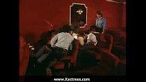 Classic vintage horny woman gangbang in the cinema - tuva novotny naked thumbnail