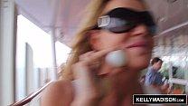 KELLY MADISON Cum Covered Titties Cruise