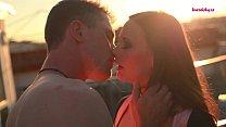 PORN VALENTINE - ROOFTOOP ROMANCE AND ROMANTIC HARDFUCKING