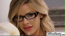 Office Sluty Girl (Jessa Rhodes) With Big Round Boobs Banged Hard video-10