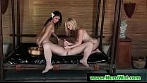 Slippery brunette takes cum and gives nuru massage 10