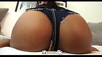 Exotic4K - Skinny black beauty Kira Noir takes ... thumb