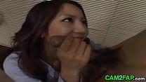 Very Hot Japanese Secretary Rina Himekawa Hardcore Porn preview image