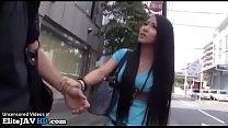 Japanese teen asks random guy to fuck in hotel Thumbnail