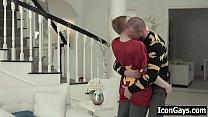 Dad visits ex wife to fuck his gay step son ‣ yosino hentai thumbnail