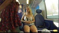 Flashing my pussy in public in Italy صورة