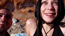 Screenshot Busty woman  fucked on the beach