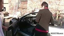German MILF in Stockings Seduce to Fuck Outdoor - 9Club.Top