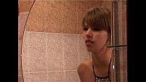 Adorable Innocent Girl Fucked in the Bathroom