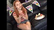 Redhead teen Ginger&amp;#039;s 18th birthday - http:\/\/pu... />                             <span class=
