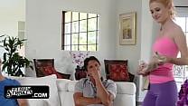 Hot & Horny Stepmom Kennedy Kressler Seduces Her Stepson