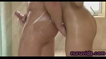 Jayden Lee hot shower