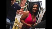 BANGBROS - Hot Babe Fucked On The Bang Bus - download porn videos