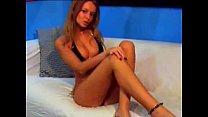 Stunningly beautiful webcam girl IbizaSunrise taking off her panties video