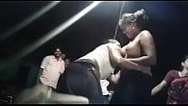 Desi Andhra hot nude aunties dance at bhogam melam thumb