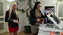 Office Lesbians Go At It thumb